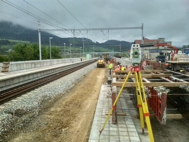 Modernizácia trate ŽSR Púchov – Považská Teplá