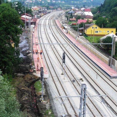 Modernizácia trate ŽSR Žilina – Krásno nad Kysucou